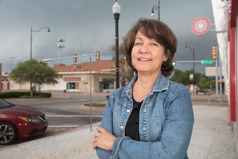 Donna Cervantes is President of Historic Capitol Hill located on just south of the Oklahoma River.