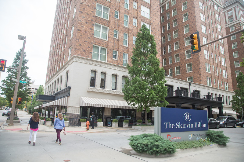 The Skirvin Hotel located at 1 Park Ave in Oklahoma City.