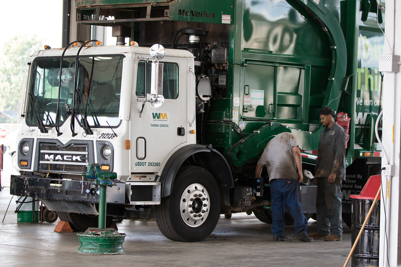 Waste Management opened their 100th CNG refueling station at 3824 W Reno Ave in Oklahoma City, OK.