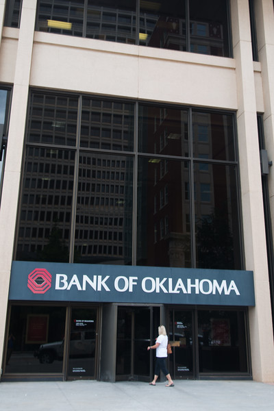 Bank of Oklahoma at 201 Robert S Kerr Boulevard in downtown Oklahoma City