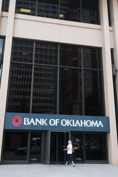 Bank of Oklahoma at 201 Robert S Kerr Boulevard in downtown Oklahoma City
