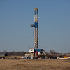 Drilling on Banner Rd north of I-40 just east of El Reno, OK.