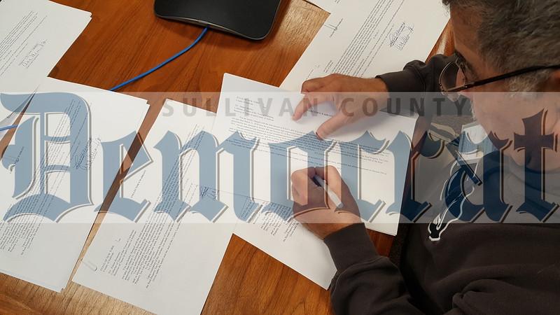Tax Warrants Signed 048