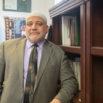 Iman Imad Enchassi with the Islamic Socioty of Greater Oklahoma City.