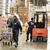 Employee's preparing orders at Capital Distributing located at 421 N Portland Ave. in Oklahoma City, OK.