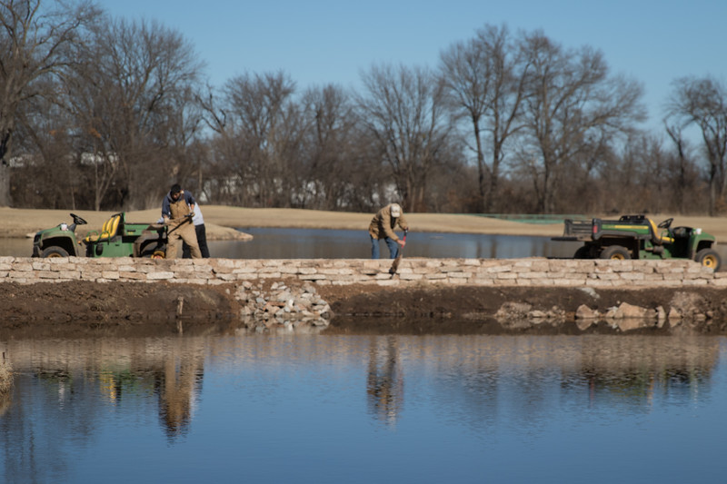Improvements being made to the Citizens Potawattomi Nation's Fire Lake Gold Course located at 1901 Gordon Cooper Dr in Shawnee, OK.