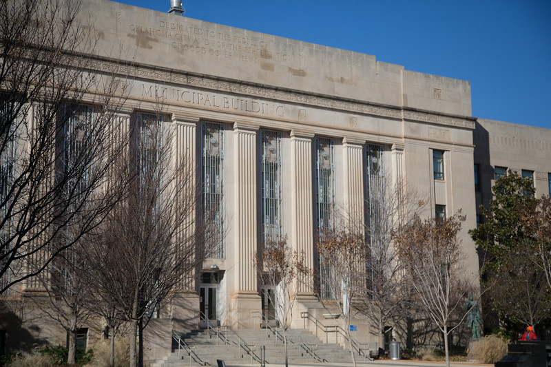 Oklahoma City Hall is one of the fourty one building in the city that will be switched from Oklahoma Natural Gas to CHGuernsey.