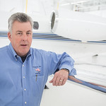 Jim Hensley, owner of American Jet Charter, Inc. located at Wiley Post Airport in Oklaoma City, OK.