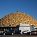 The Gold Dome located at 1112 NW 23rd St. in Oklahoma City, Ok.
