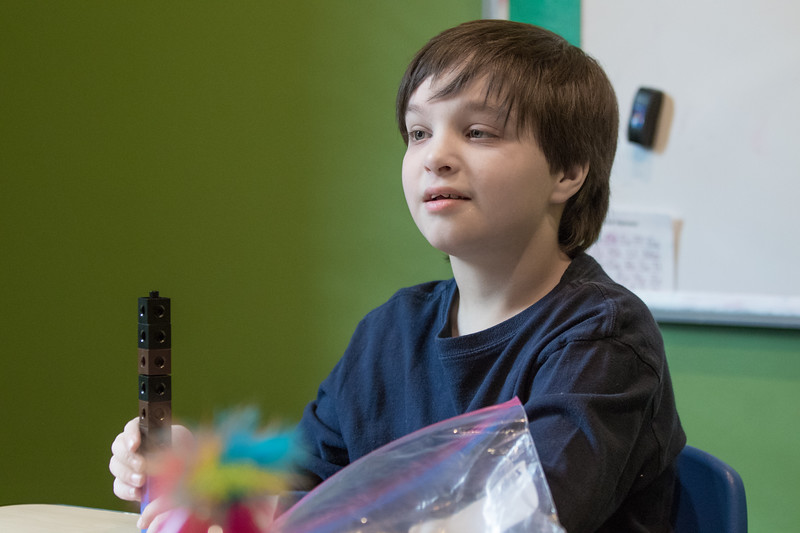 Mark Smith, 12, has various medical issues and an intellectual disability. He goes to therapy at Total Poss-abilities in Edmond, which helps him learn the skills necessary to go to school. Oklahoma Virtual Charter Academy's state funding makes that possible.