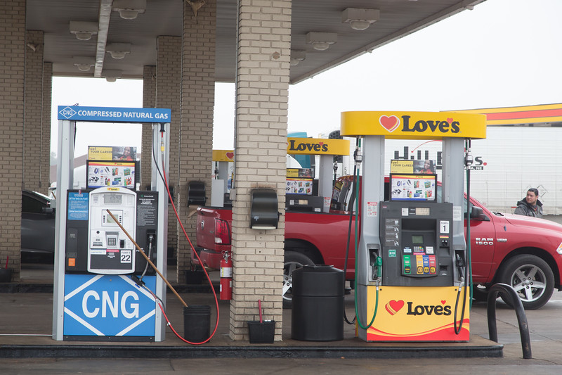CNG available at Love's Country Store located at 12225 N. I-35 in Oklahoma City.