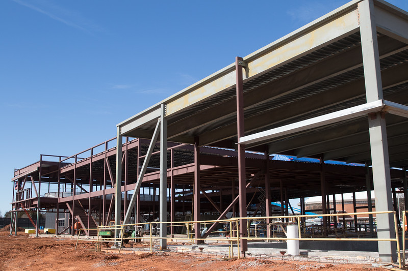 Construction of a Senior Welnnes Center at 4021 S Walker Ave in Oklahoma City, OK