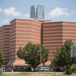 The Oklahoma County Jail located at 201 N Shartel Ave in Oklahoma City, OK.