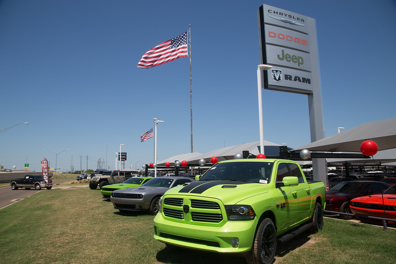 Bob Howard Chrysler Jeep Dodge located at 13250 Broadway Extension in Oklahoma City, OK.