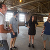 Joey Morris, Coddy Cowen, Jenna Lewis and John Harris at the location of the new resturaunt The Press located at 1610 N Gatewood Ave in Oklahoma City.