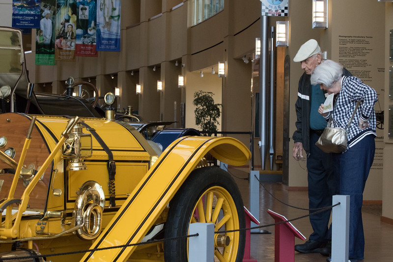 The Oklahoma City Center has a collection of classic and antique cars as part of the Art of Speed exhibit.