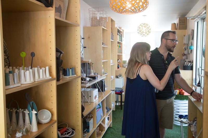 Sunshine Gadbury owns Perchd Modern, a micro retail shop located at 14 NW 9th Street in Oklahoma City, OK.