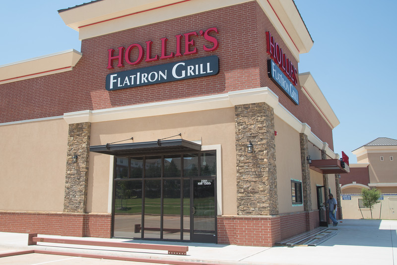 Hollies's Flat Iron Grill is opening a new location at 2201 NW 150th Street in Edmond, OK.