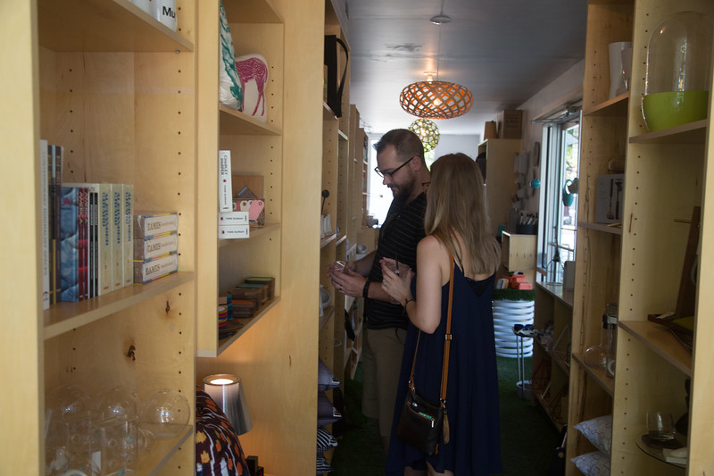 Sunshine Gadbury owns Perchd Modern, a micro retail shop located at 14 NW 9th Street in Oklahoma City, OK.