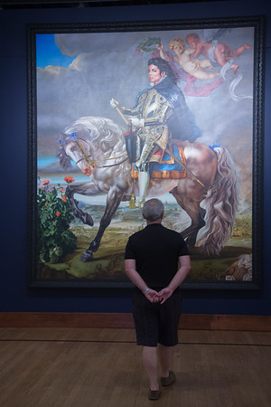"""The Oklahoma City Museum of Art is currently presenting """"A New Republic"""" by artist Kehinde Wiley."""