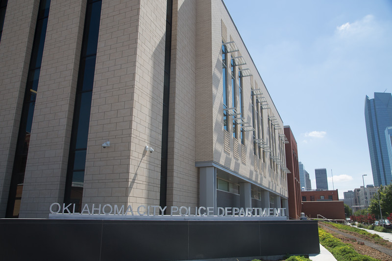 The Oklahoma City Police Departments located at 700 Colcord Dr in Oklahoma City.