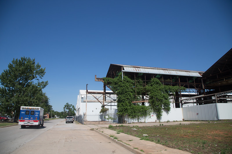 Tommy Yi with Starspace 46 hopes to create a new district comittee to atract investment in the steelyard area located on the west side of downtown Oklahoma City.