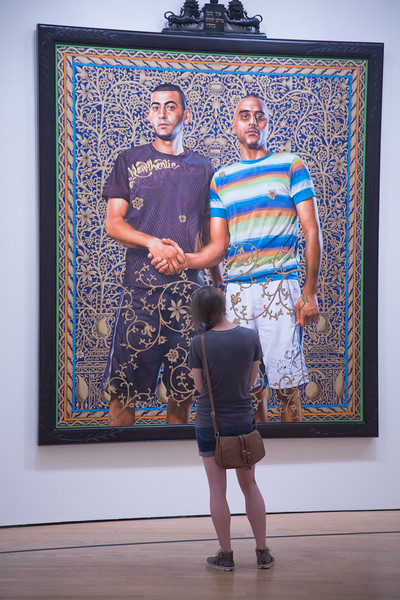 "The Oklahoma City Museum of Art is currently presenting ""A New Republic"" by artist Kehinde Wiley."