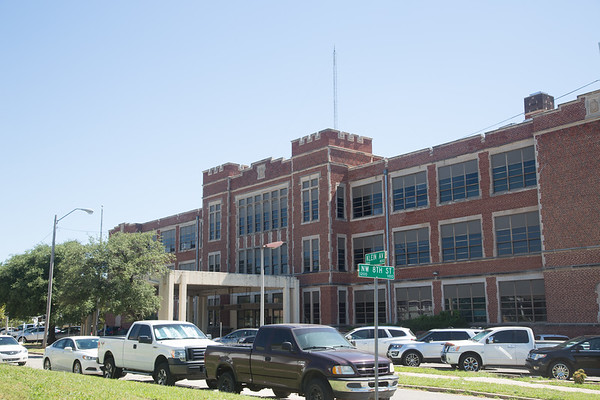 The Oklahoma City School Board administration building located at 900 N Klien Ave in Oklahoma City.