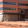 Construction on the east side of the VA Hospital located at 921 NE 13th Street in Oklahoma CIty, OK.