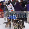 Iditarod rookie Kim Darst from Blairstown, N.J., drives her team down the starting chute of the Iditarod Trail Sled Dog Race in this March 8, 2009 photo in Willow, Alaska. AP Photo/Al Grillo