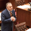 Sen. Greg Treat introduces a series of bills at the Oklahoma State Capitol.