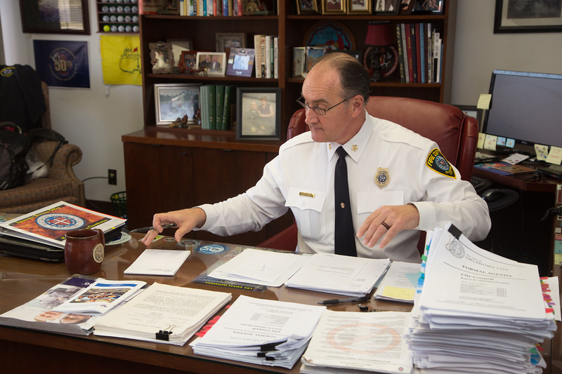 Oklahoma CIty Fire Chief Keith Bryant.