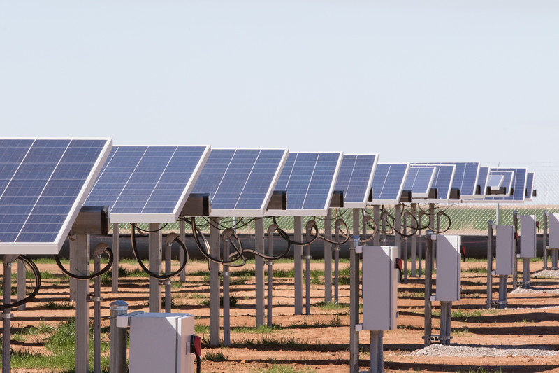 Western Farmer's Cooperative opened a new solar power instilation south or Tuttle, OK.