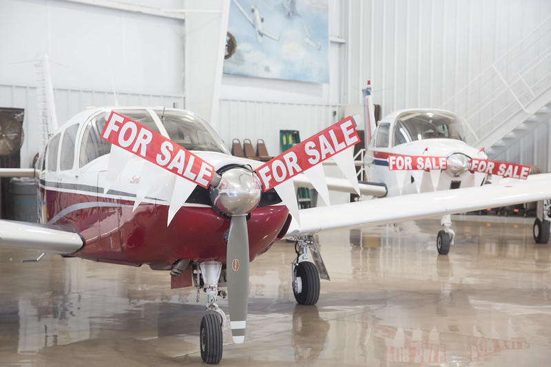 Planes for sale at Southern Wing Sales located at 6701 N Rockwell Ave in Oklahoma CIty.