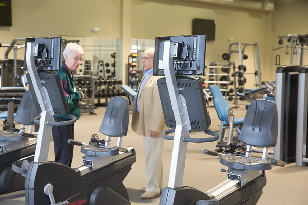 The new Senior Wellness Center located at 11501 N Rockwell Ave in Oklahoma City, OK.