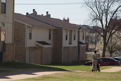Chapperall Townhouses located at NW 13th Street and Stiles Ave in Oklahoma CIty, OK.