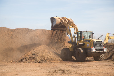 Minick Materials mixes their black diamond product at their materials facility located at 6000 N Morgan Road in Yukon, OK.