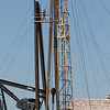 A work over rig located at SE 59th Street and I-35 in Oklahoma City, OK.