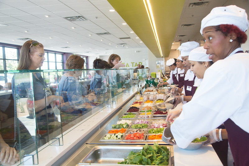 Salata held a cold opening to prepare for their grand opening at 12220 N MacArthur Blvd in Oklahoma City, OK.