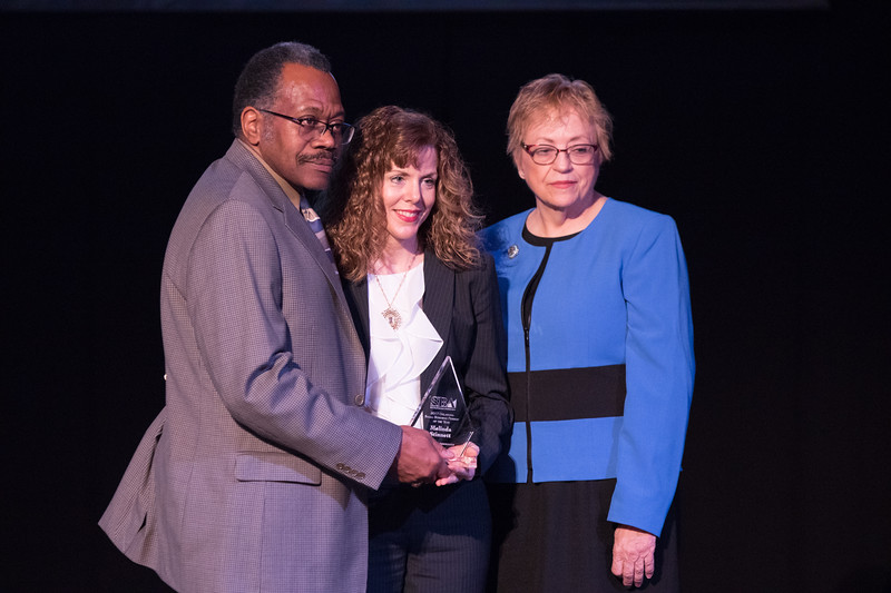 Melinda Stinnett, with Stinnett and Associates, won the 2017 Small Business Person of the Year from the Small Business Administration of Oklahoma City.