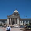 The Oklahoma State Capitol in Oklahoma City, OK.