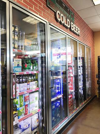 A man buying beer at Circle K located at 601 E Reno Ave in Oklahoma City.