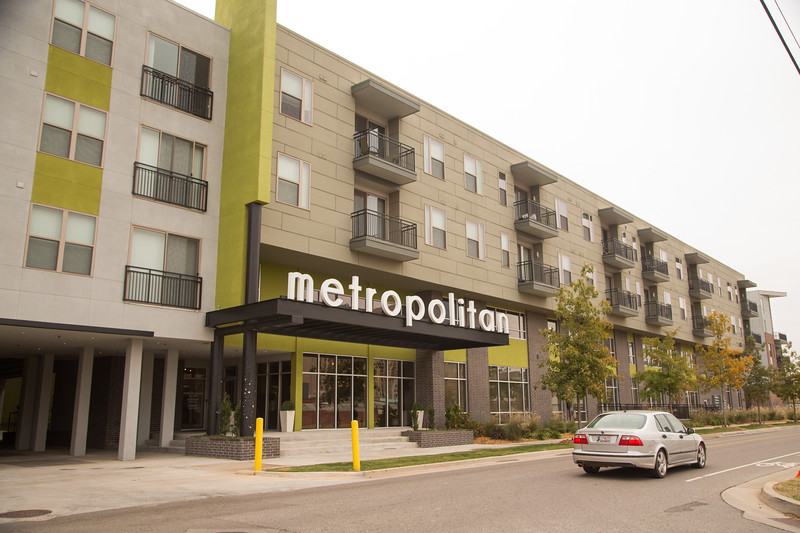 The Metropoitan apartments at 800 N Oklahoma Ave in Oklahoma City have been sold just two years after being built.