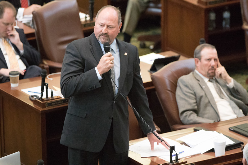 Oklahoma State Repersenitive Kevin Wallace introduced a bill to raise the motor fuel tax during a special session of Oklahoma legislators.