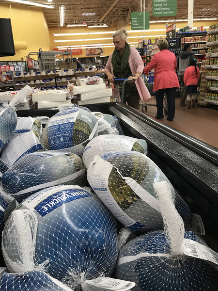 Turkey for sale at Wal-Mart Super Center located at 1225 W I- 35 Frontage Rd in Edmond, OK.