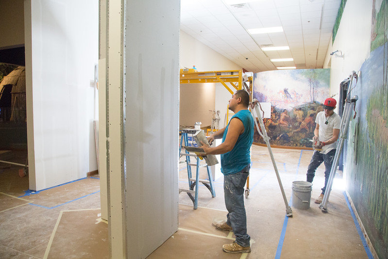 The Citizen Potawatomi Nation is nearing completion at the Cultural Heritage Center located at 1899 S Gordon Cooper Dr in Shawnee, OK.
