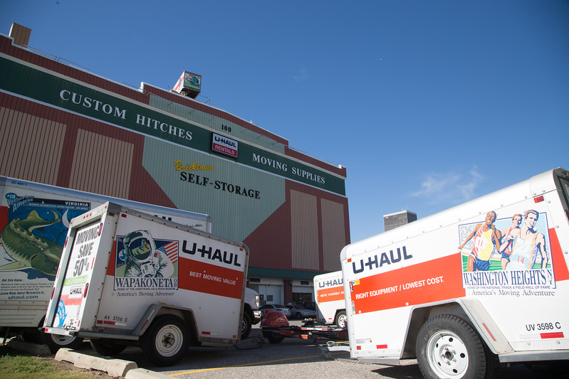 U-Haul in Bricktown is negotiating with the City of Oklahoma City over the road the city want to build through their exsisting parking lot.