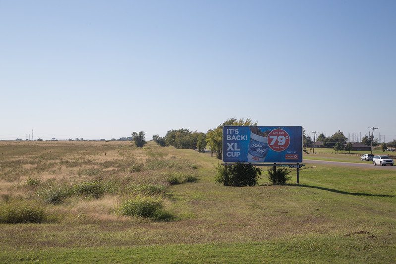 Land at the sothwest corner of Highway 66 and Frisco Road that was once owned by Oklahoma City and has been annexed by Yukon, OK.