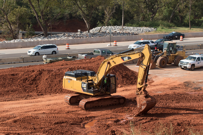 Expansion of i-235 between NE 36th Street and I-44 in Oklahoma City, OK.