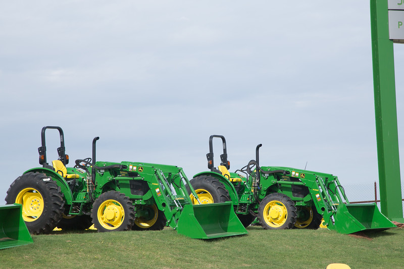 John Deere Tractors for sale at P and K Equipment located at 6709 N I-35 Frontage Rd. in Edmond, OK.